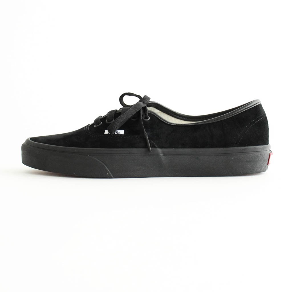 VANS|AUTHENTIC (PIG SUEDE) #BLACK/BLACK [VN0A2Z5I18L]