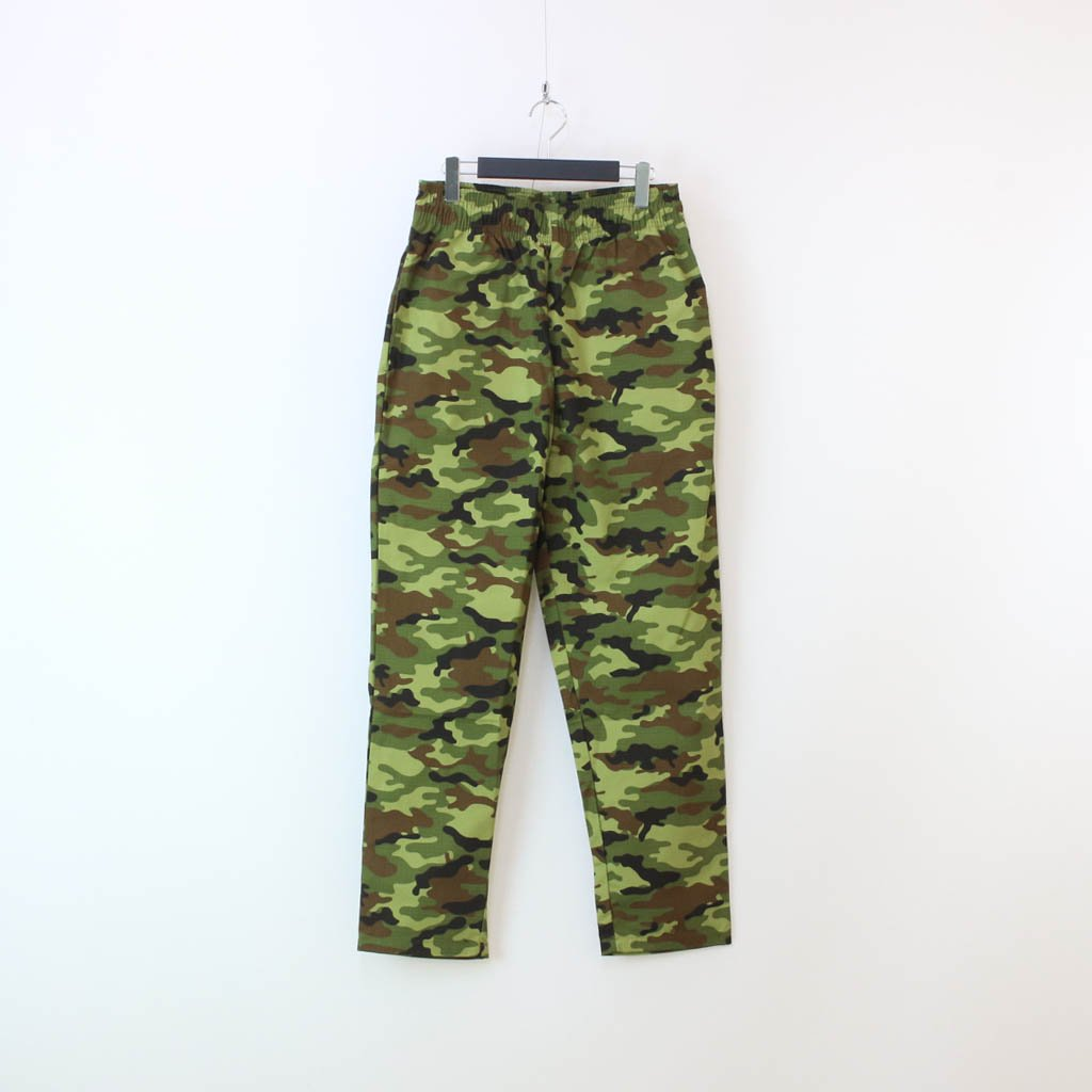 COOKMAN|CHEF PANTS RIPSTOP CAMO (WOODLAND) #GREEN [231-03818]