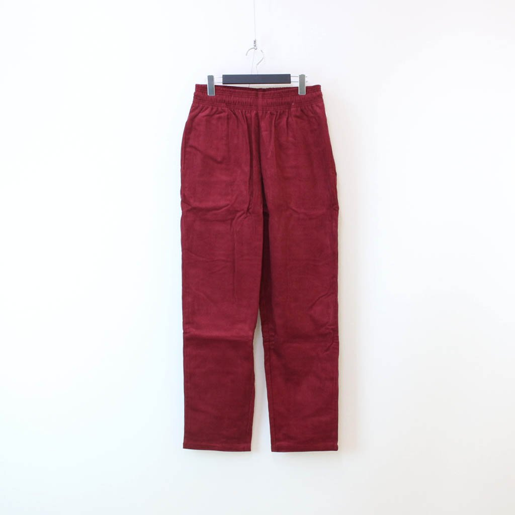 COOKMAN|CHEF PANTS (CORDUROY) #WINE RED [231-03809]