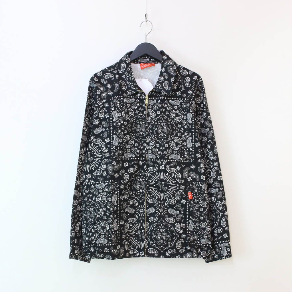 COOKMAN|DELIVERY JACKET (PAISLEY) #BLACK [231-03434]