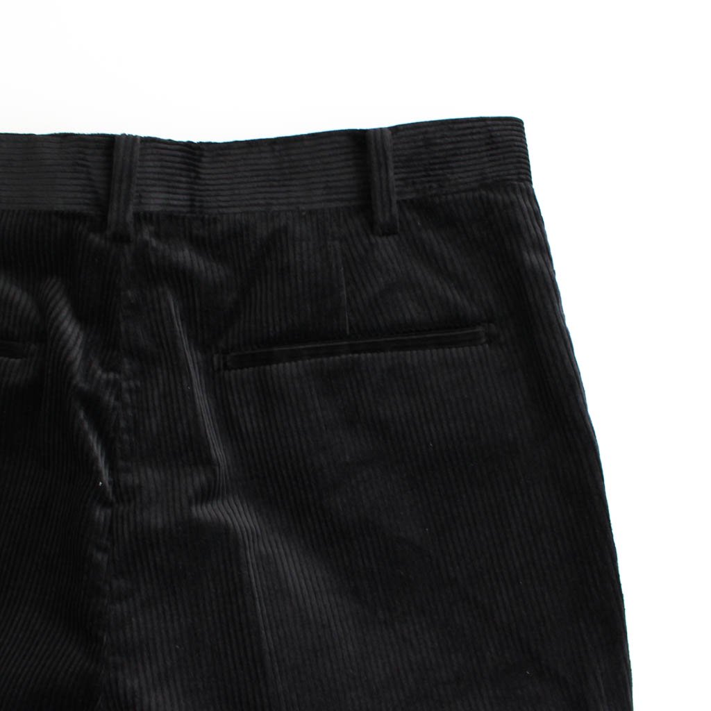 PLEATED TROUSERS #BLACK [20FW-WMP-TR15]