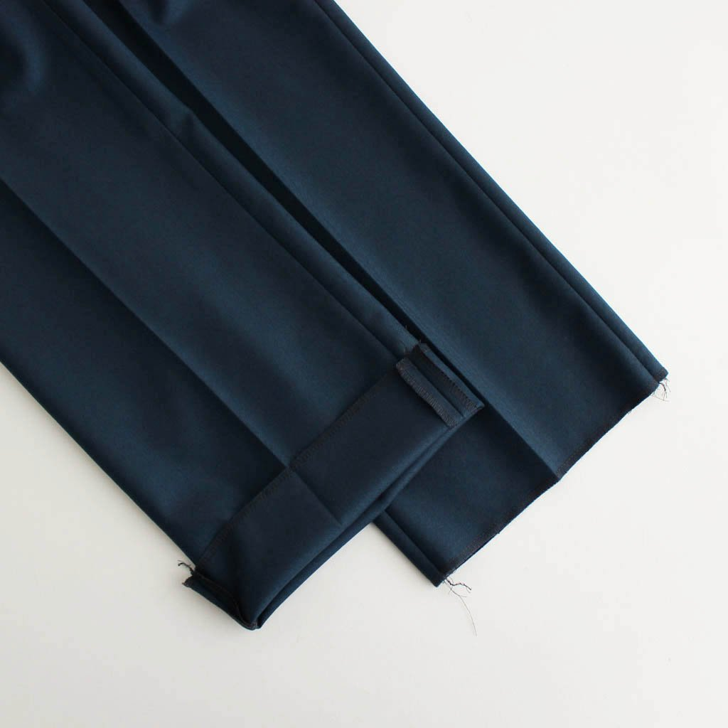 PLEATED TROUSERS (TYPE 2) #BLUE [20FW-WMP-TR02]