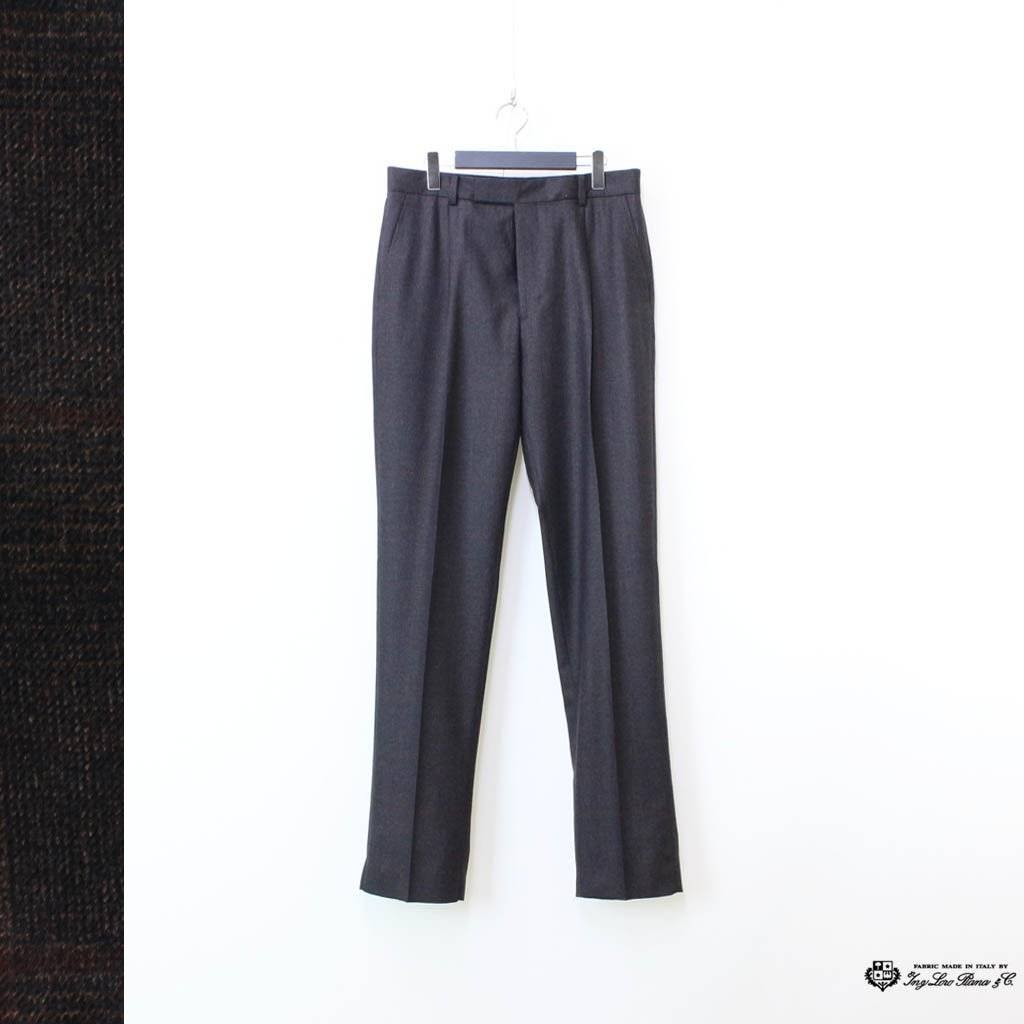 WACKO MARIA|PLEATED TROUSERS (TYPE 2) #BROWN [20FW-WMP-TR07]
