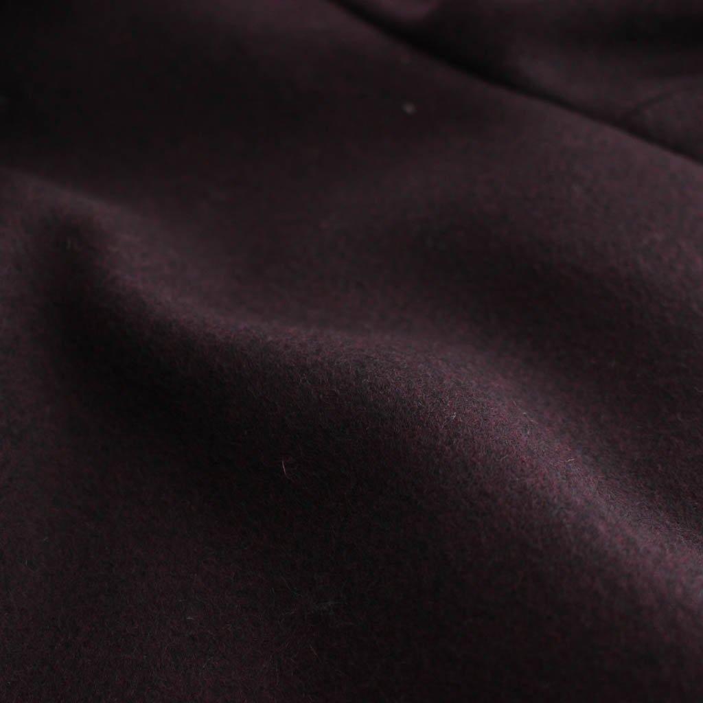 MOUTON COLLAR GANG COAT #PURPLE [20FW-WMO-CO09]