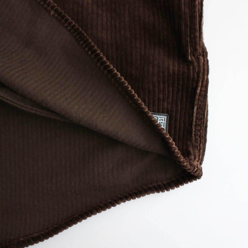 CORDS COACH SHIRTS JKT #BROWN [20AW-FS-27]