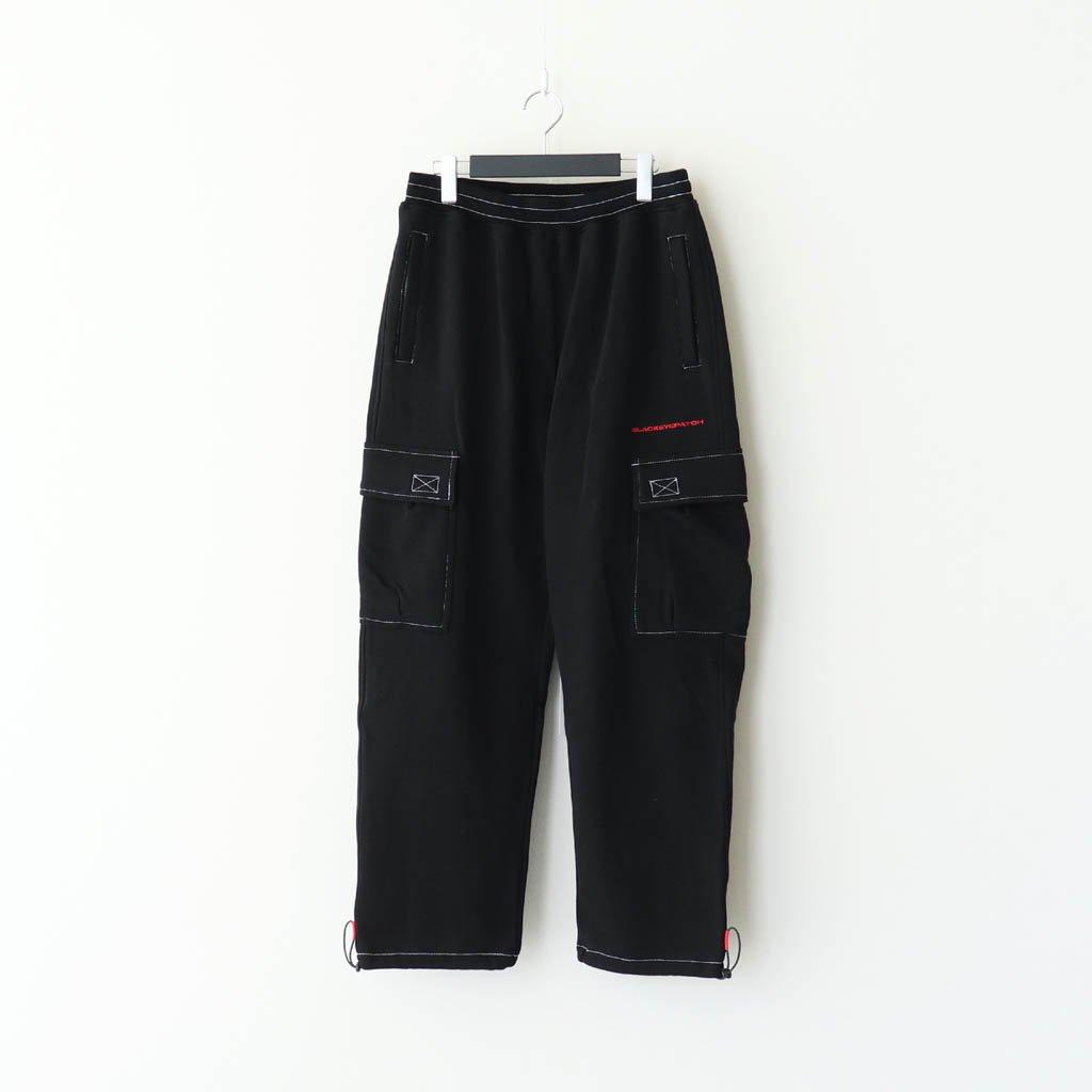 BLACK EYE PATCH|SWEAT CARGO PANTS #BLACK [BEPFW20PA01]