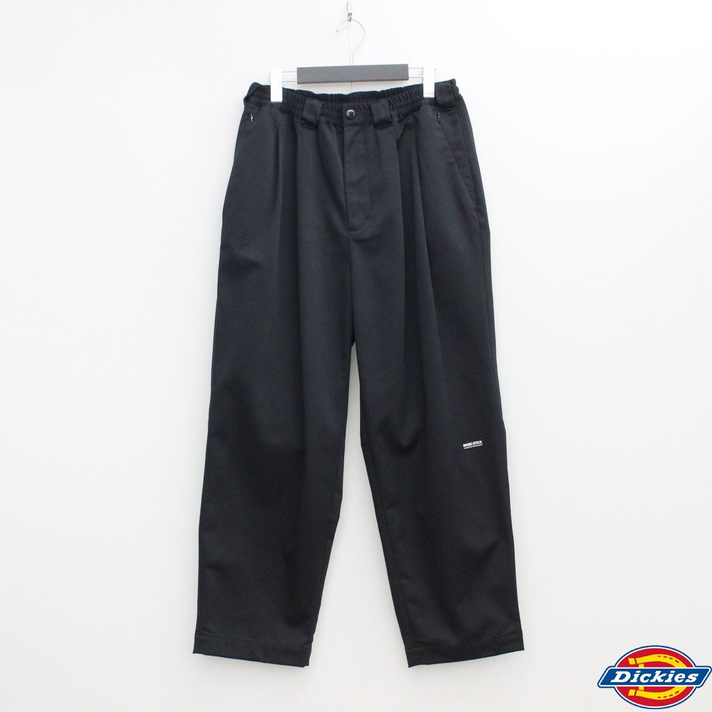 MAGIC STICK|DICKIES | 90S STYLE WIDE TAPERED CHINO #TRIPLE BLACK [20HL-MSDK-002]