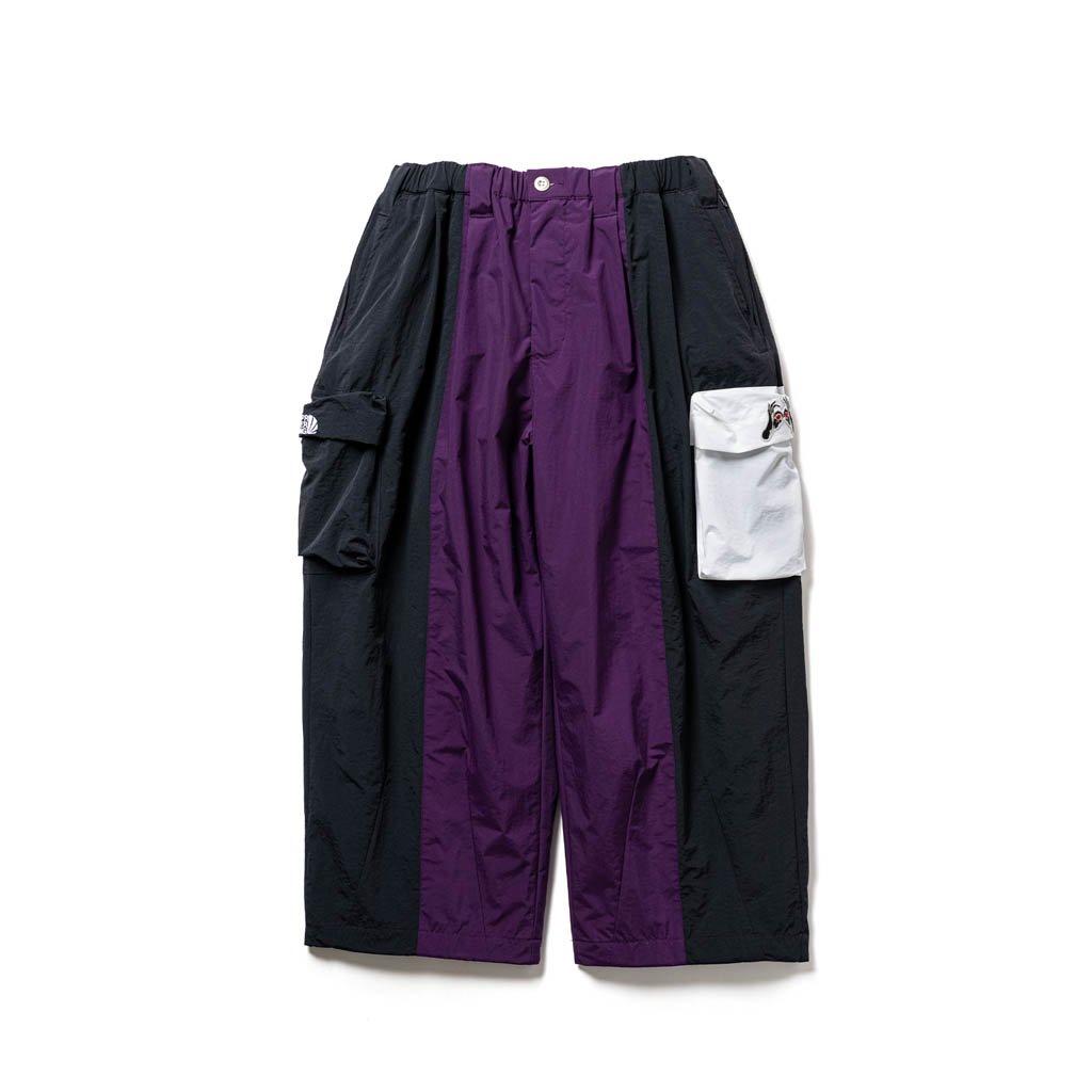 TIGHTBOOTH PRODUCTION|KILLER BONG | SAMURAI TRACK PANTS #PURPLE [FW20-15th27]