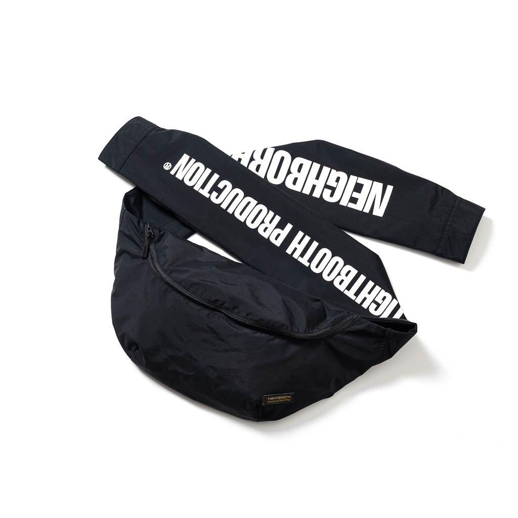 TIGHTBOOTH PRODUCTION|NEIGHBORHOOD | ROCKY BAG #BLACK [FW20-15th05]