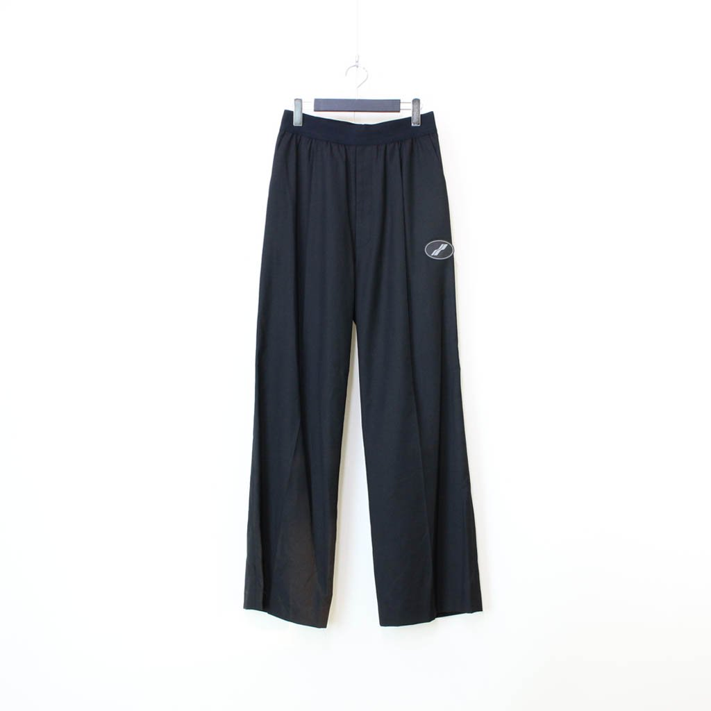 WE11DONE|LOGO TROUSERS #BLACK [WD-PT4-20-729-U]