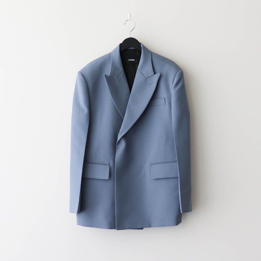 WE11DONE|DOUBLE-BREAST OVERSIZE SUIT #BLUE [WD-JK8-20-055-W / WD-PT8-20-043-W]