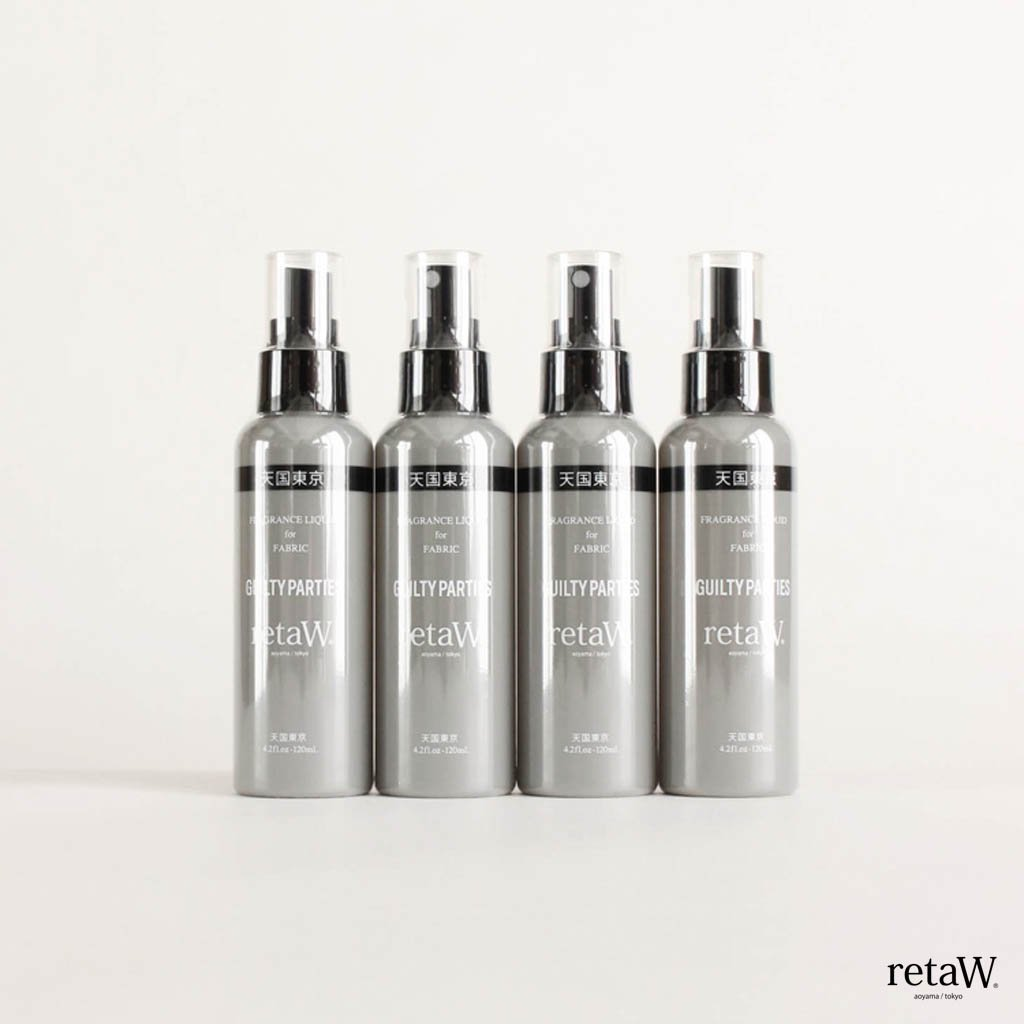 WACKO MARIA|RETAW | FRAGRANCE FABRIC SPRAY #GRAY [retaW-WM-GG01]