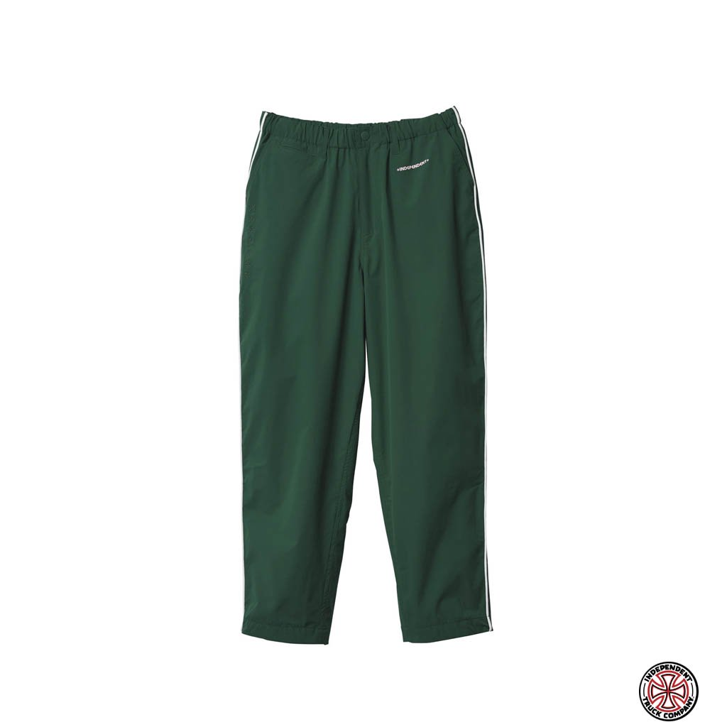Evisen Skateboards|INDEPENDENT | PIPING PANTS #GREEN [21SP-INDY02]