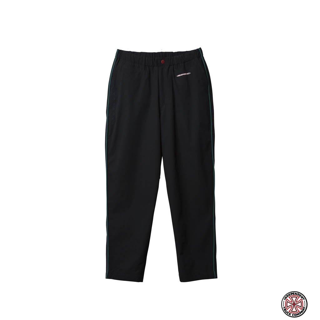Evisen Skateboards|INDEPENDENT | PIPING PANTS #BLACK [21SP-INDY02]