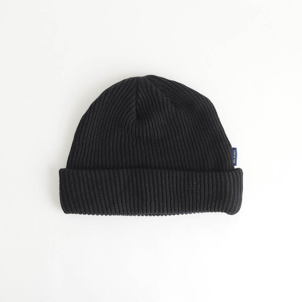 SON OF THE CHEESE C100 KNITCAP #BLACK [SC1810-CP10]