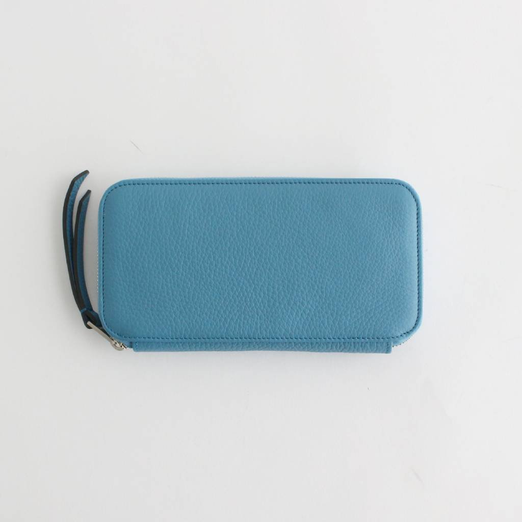 TAURILLON LAGUN ROUND ZIP (LONG) #L-BLUE