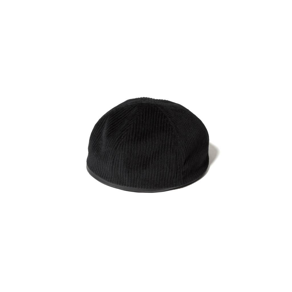 F-LAGSTUF-F|NO BRIM CAP #BLACK [21SS-FS-TEPPEI-05]