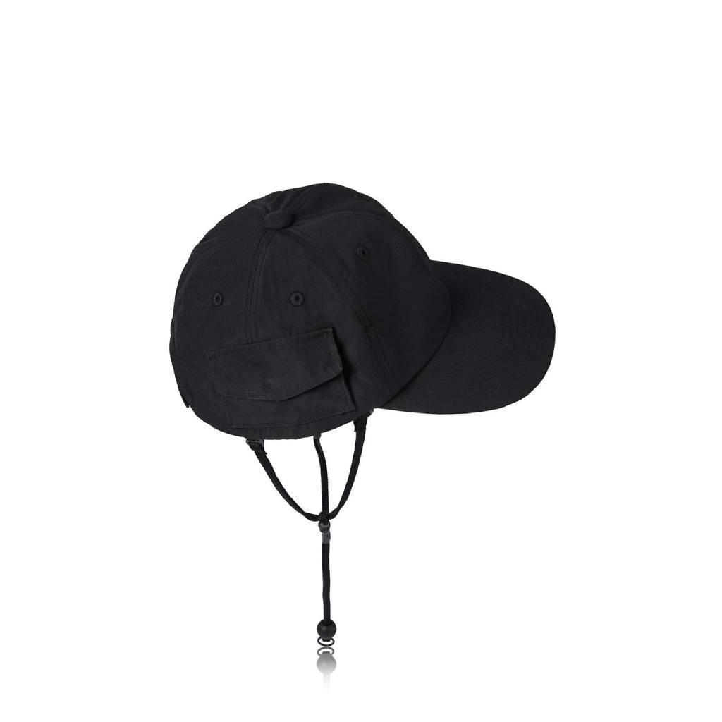 DAIWA PIER39 TECH POCKET CAP RIP-STOP #BLACK [BC-35021]