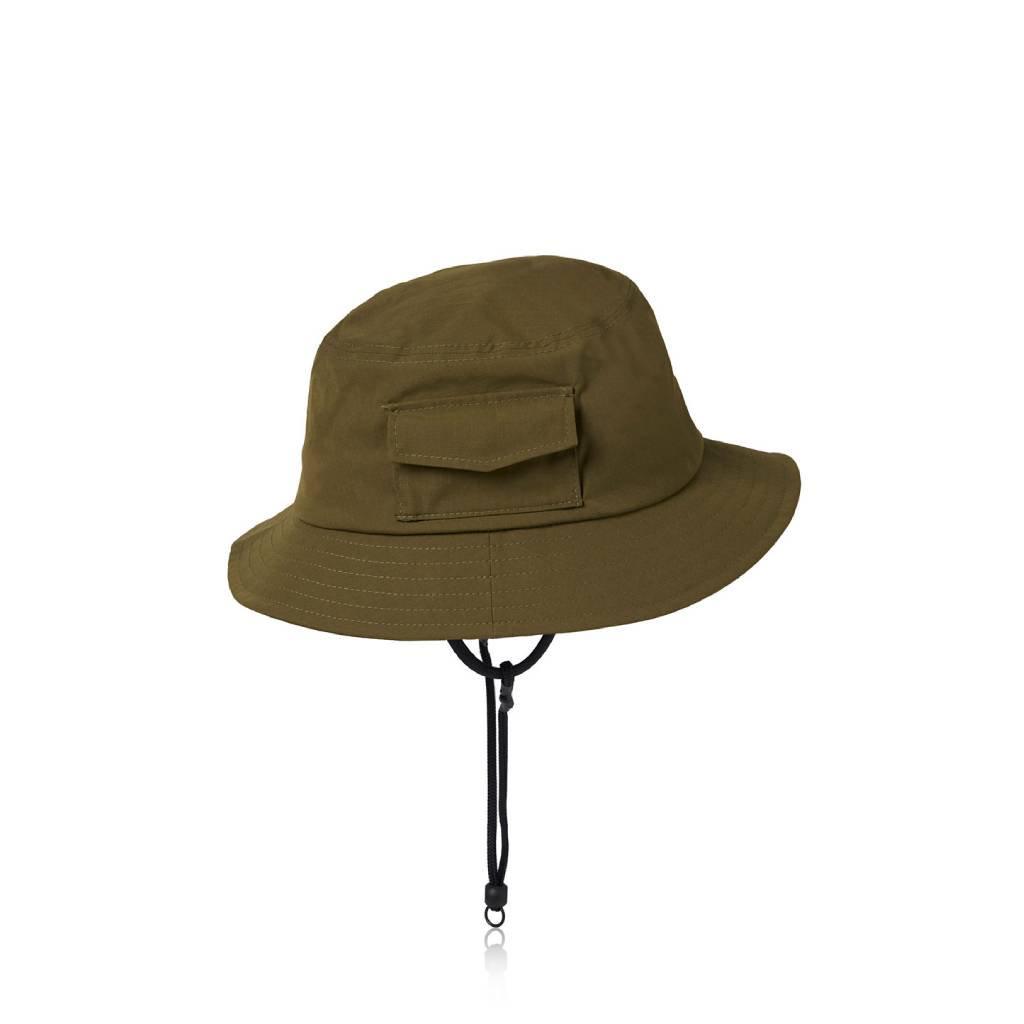 DAIWA PIER39 TECH POCKET HAT RIP-STOP #OLIVE [BC-34021]