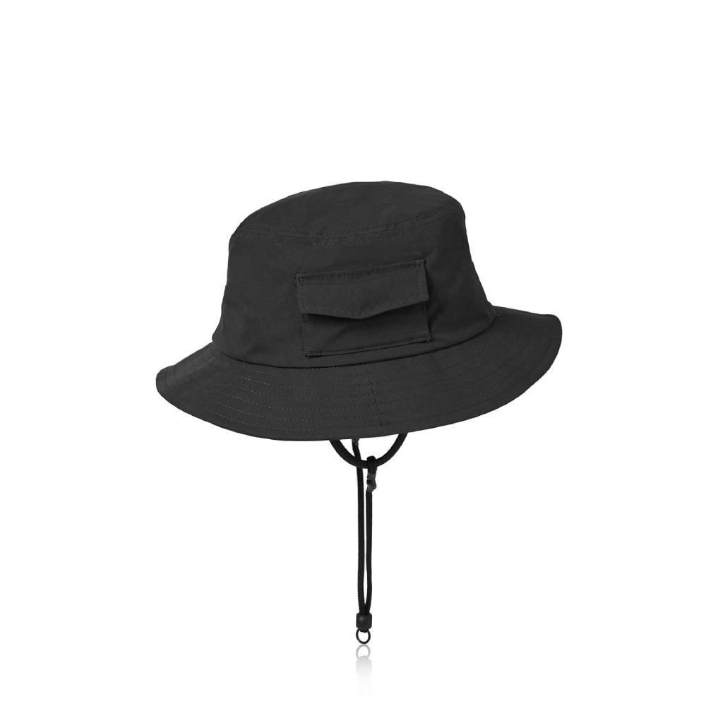 DAIWA PIER39|TECH POCKET HAT RIP-STOP #BLACK [BC-34021]