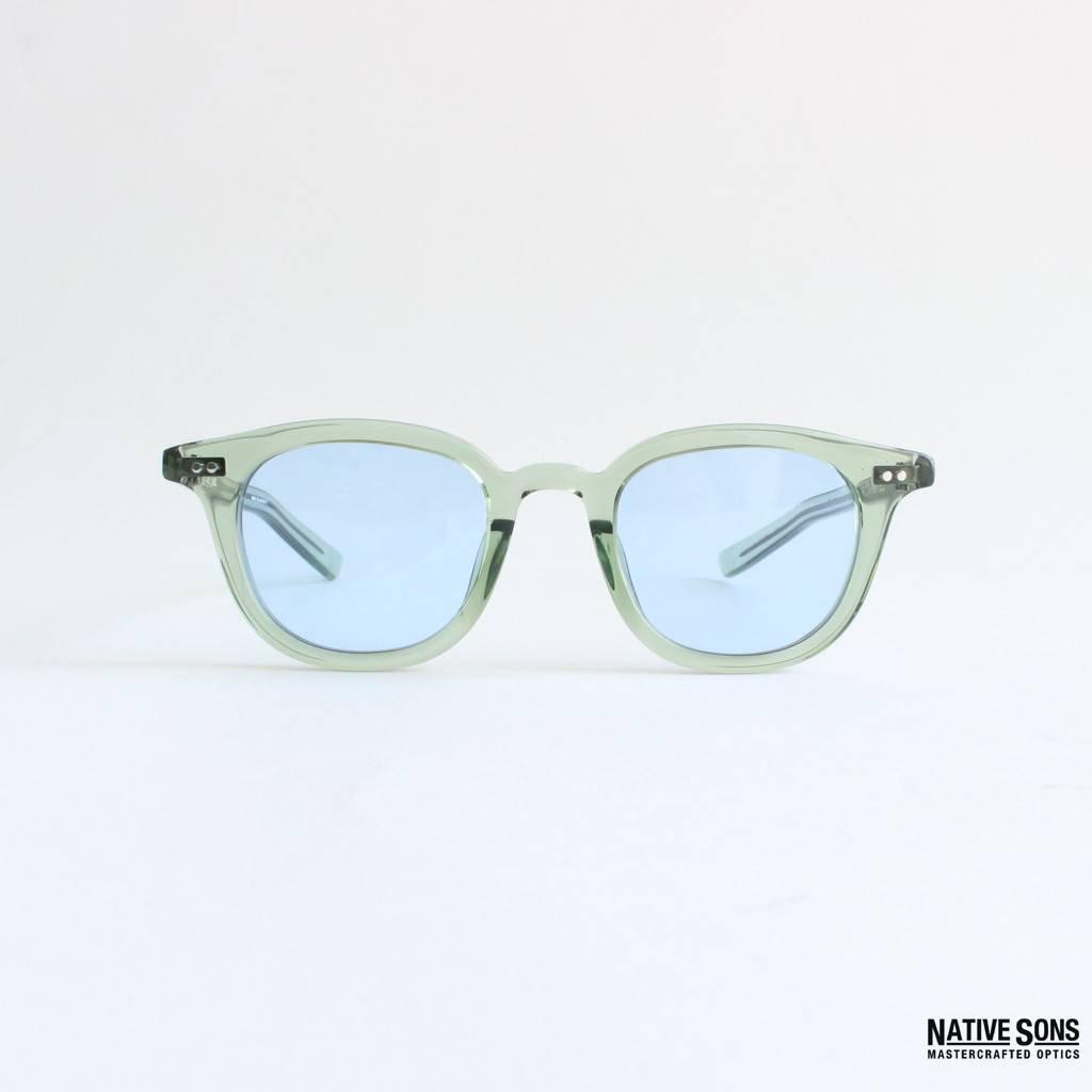 WACKO MARIA|NATIVE SONS | GLASSES TYPE 2 #BLUE [NATIVESONS-WM-EW09-B]