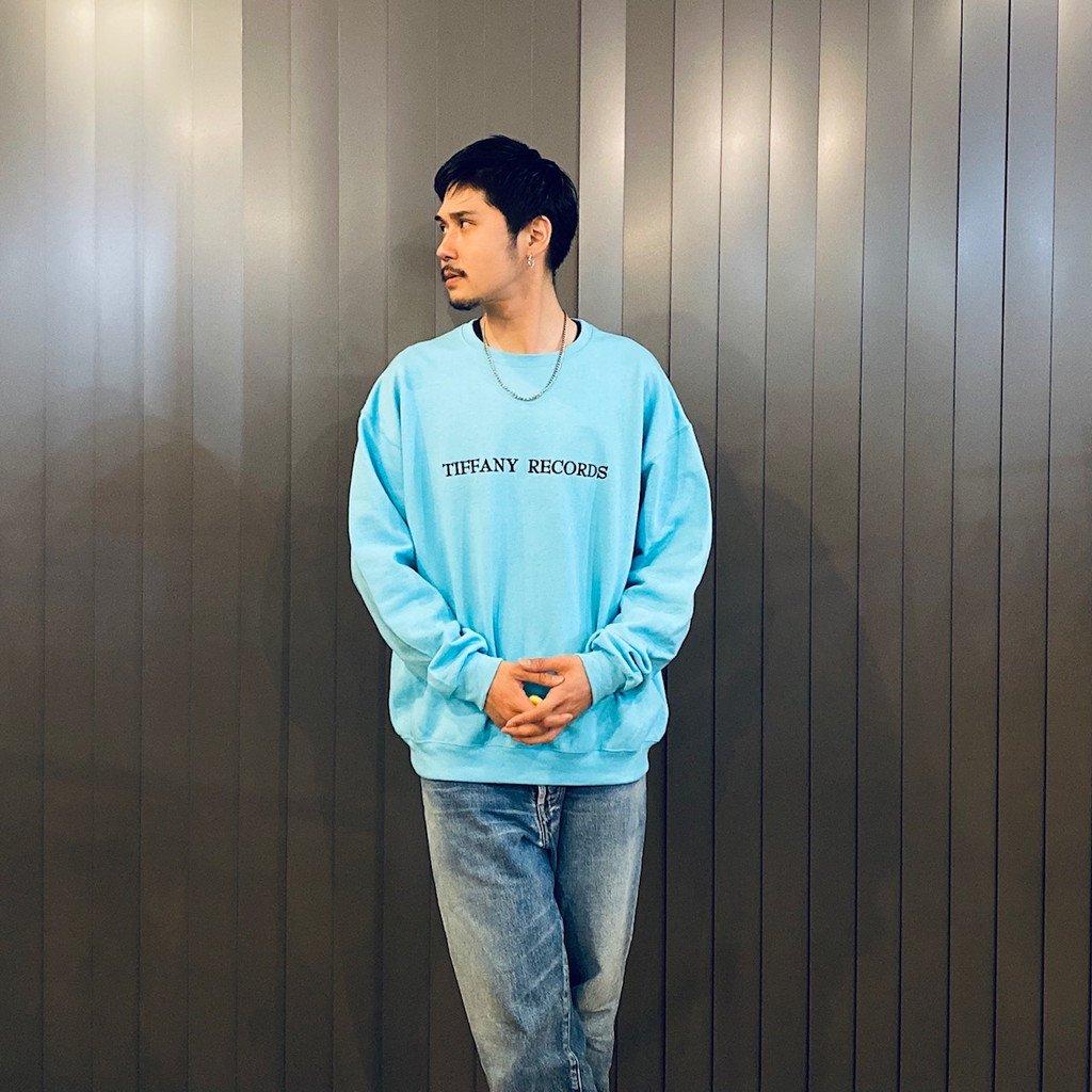 CREW NECK SWEAT SHIRT TYPE 1 #BLUE [21SS-WMC-SS11]