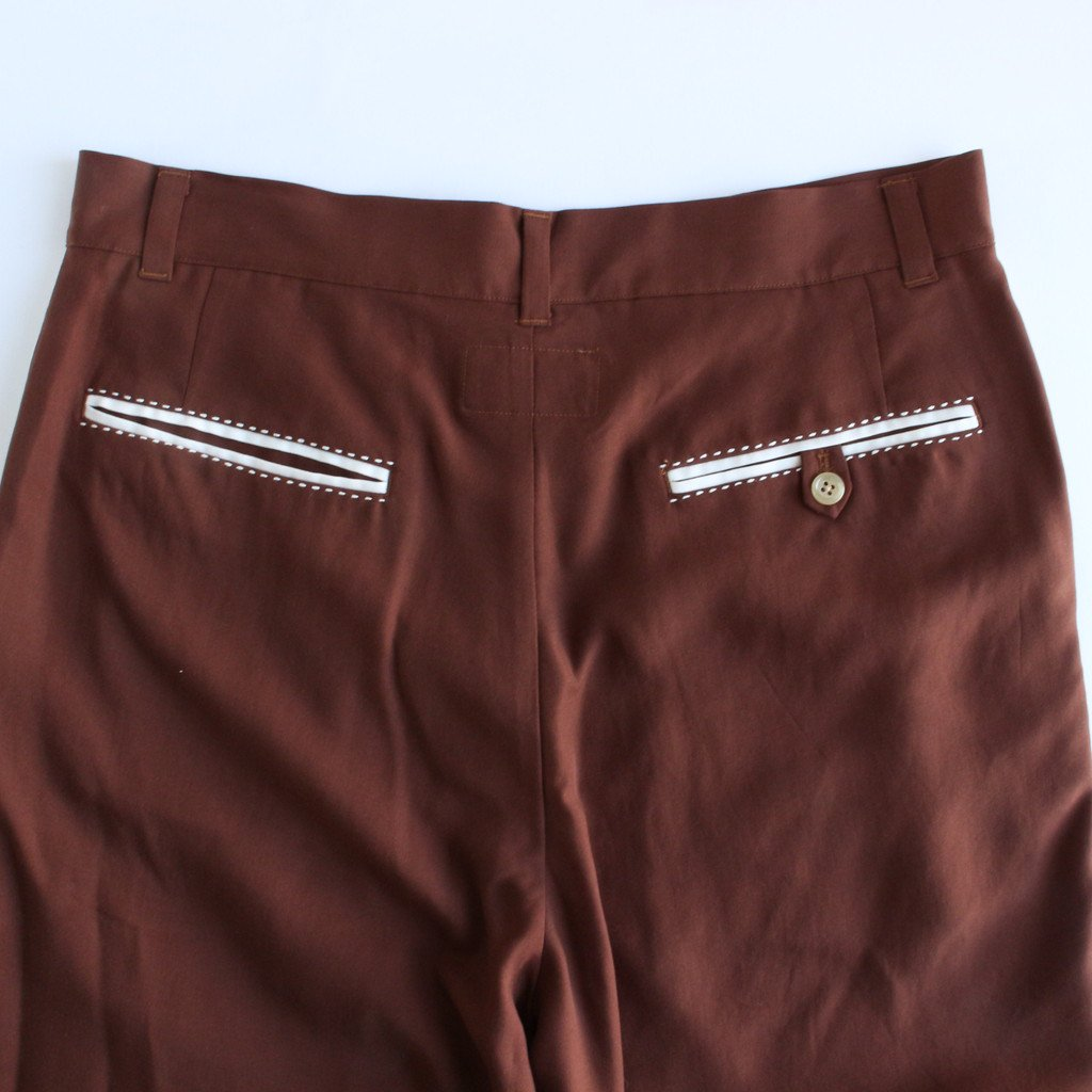 MIAMI SHORTS #BROWN [21SS-WMP-PT07]