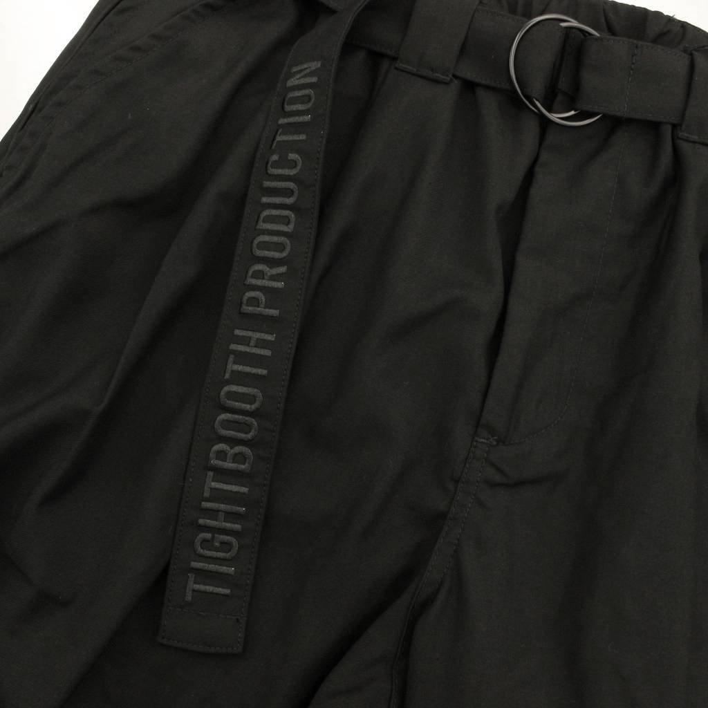 BAGGY SLACKS #BLACK [SS21-B02]
