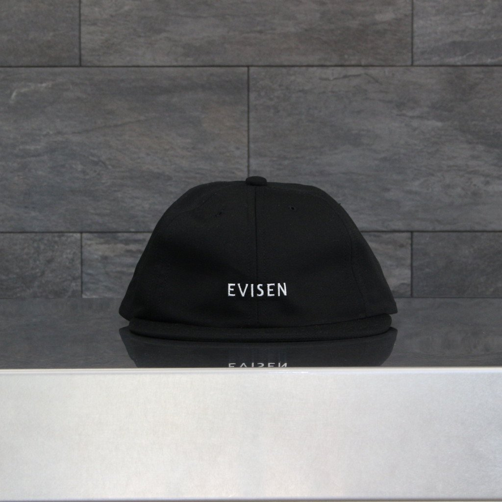 GROSGRAIN 6 PANEL #BLACK [21SS-H02]