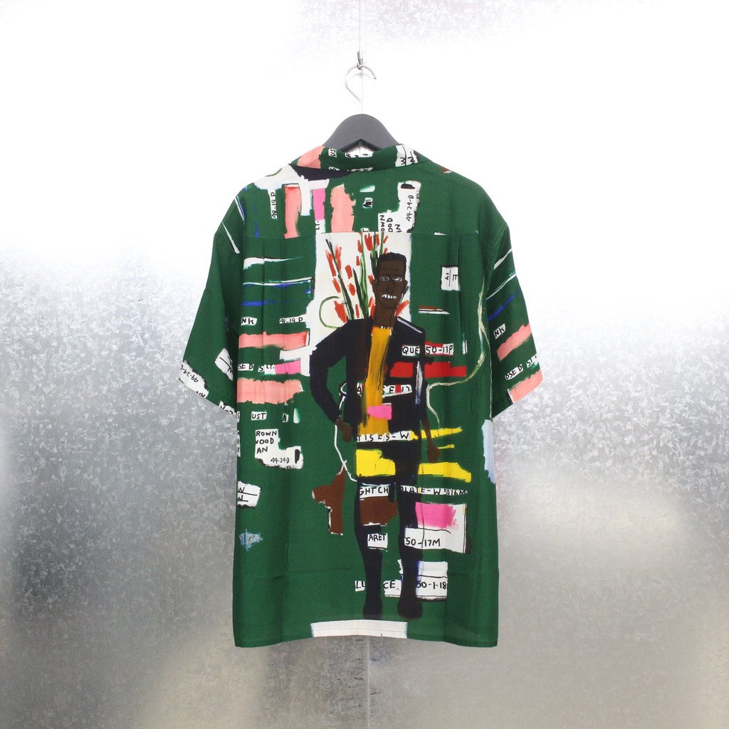 JEAN-MICHEL BASQUIAT | S/S HAWAIIAN SHIRT TYPE 2 #ONE [BASQUIAT-WM-HI05]