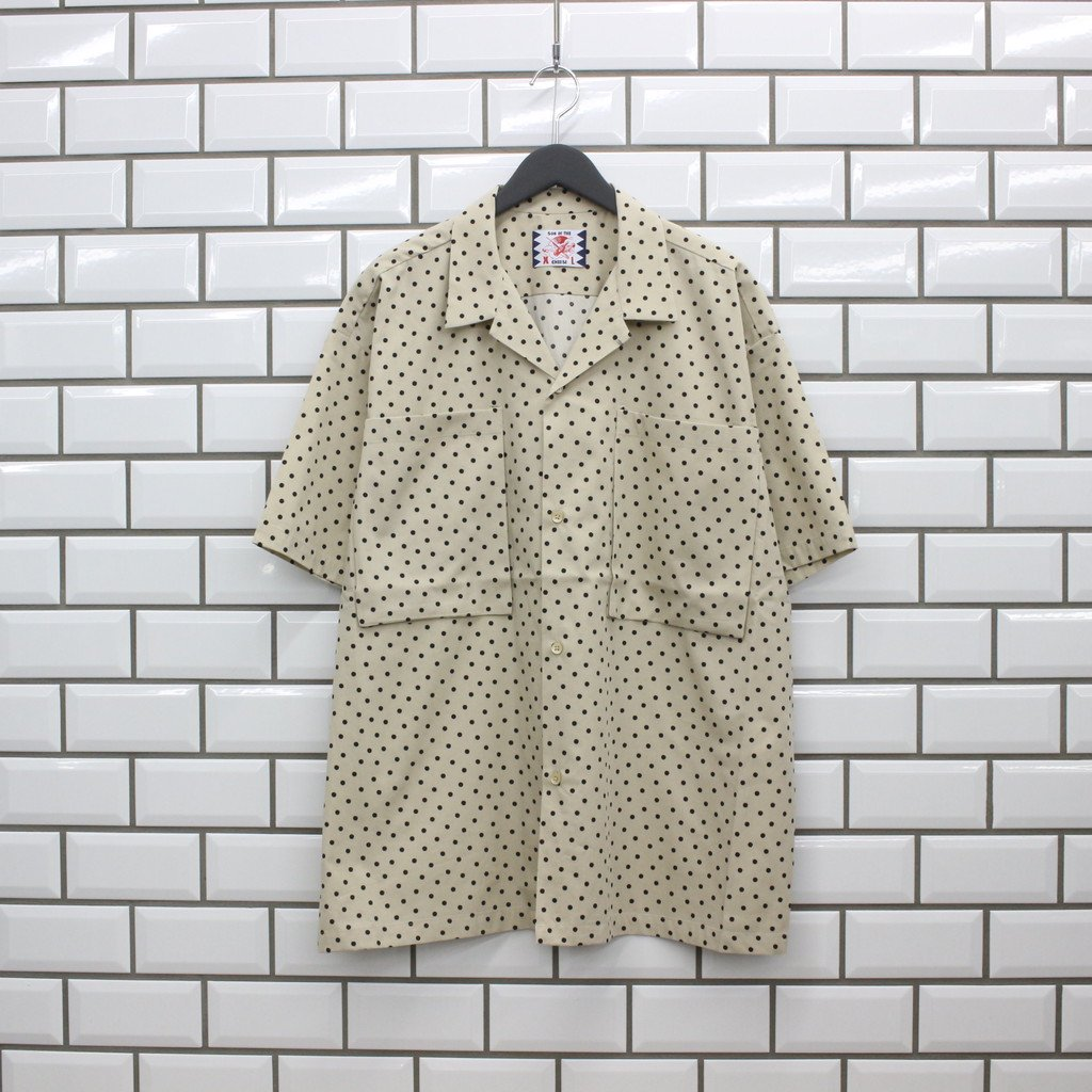 SON OF THE CHEESE|BOX POCKET S/S #BEIGE [SC2110-SH02]