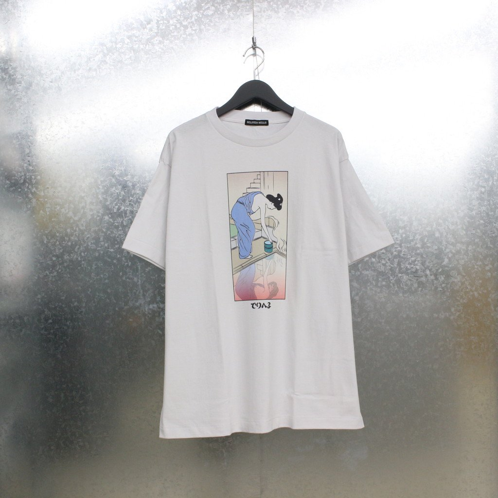 F-LAGSTUF-F|DELIHELL TEE #WHITE [21SS-DH-17]