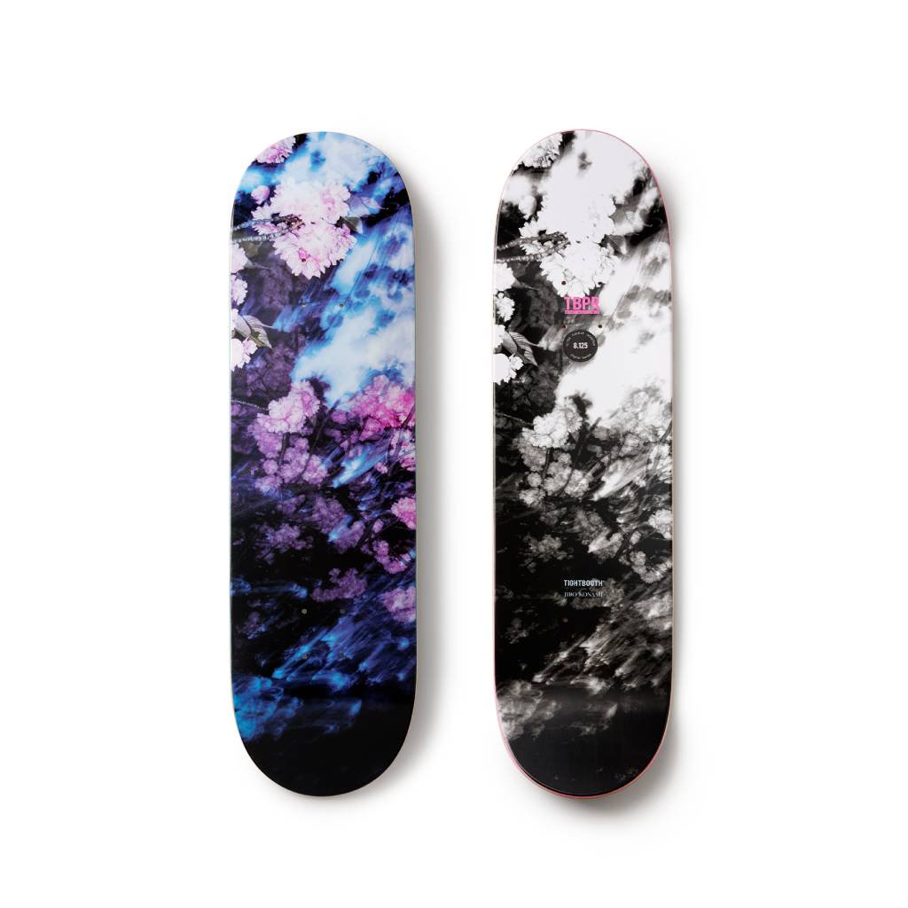 TIGHTBOOTH PRODUCTION|SKATE DECK COLOR WAVE #PURPLE-BLACK [SS21-D04]