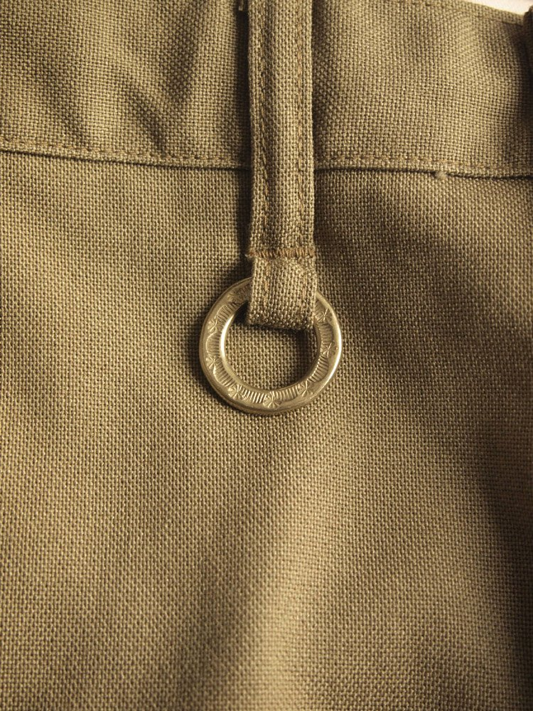 Nasngwam. | ナスングワム CALM PANTS(HOPSACK) #BEIGE