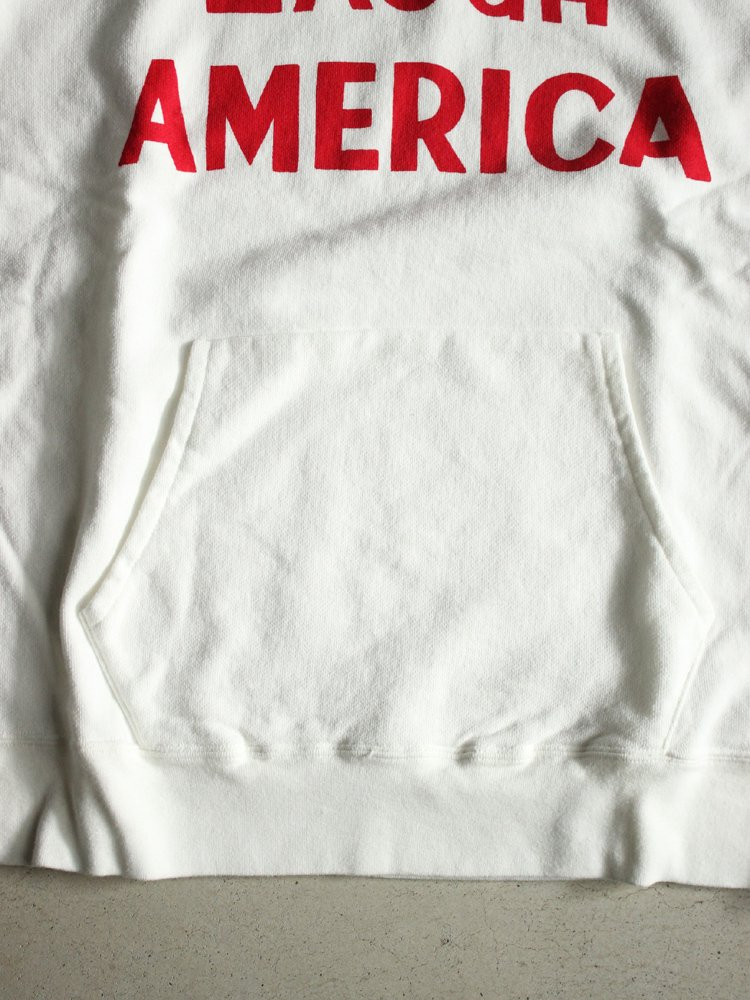 セール HOODED SWEAT [LOVE AMERICA] #WHITE