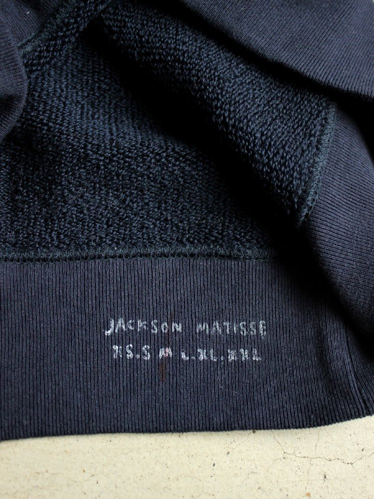 JACKSON MATISSE | ジャクソンマティス MARK GONZALES Crew Neck Sweat #NAVY