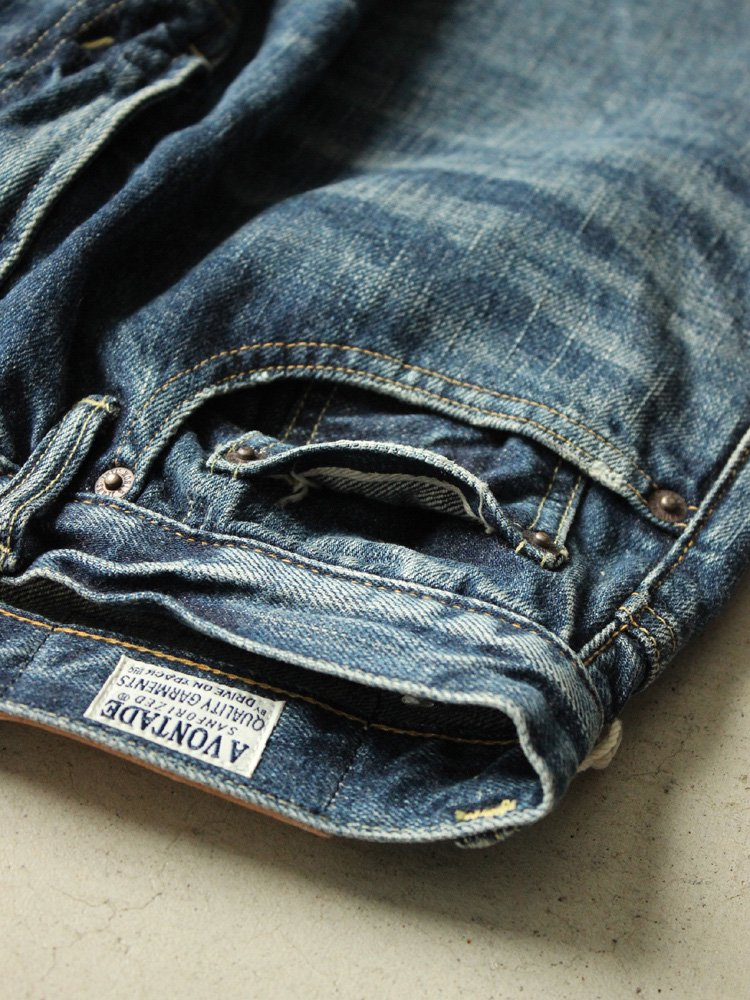 A Vontade | アボンタージ 5Pocket Jeans Narrow Fit #VINTAGE WASH