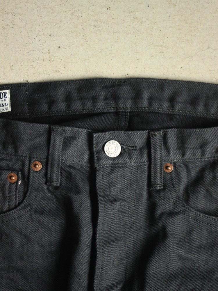 A Vontade | アボンタージ 5Pocket Jeans Narrow Fit #FADE BLACK