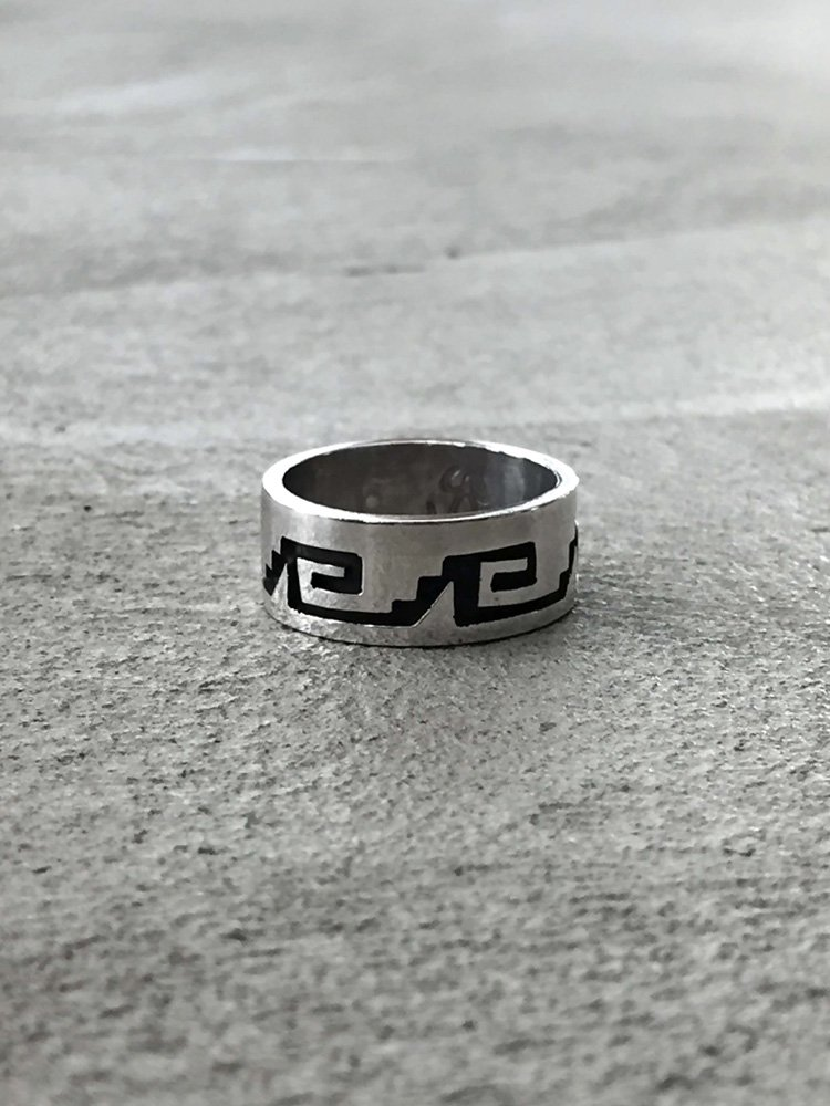 Indian Jewelry | インディアンジュエリー Hopi Ring [Terry Wadsworth]