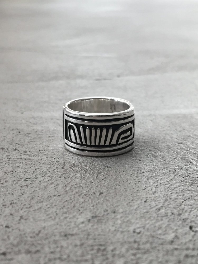 Indian Jewelry | インディアンジュエリー Navajo Ring [Steven Joe Begay]