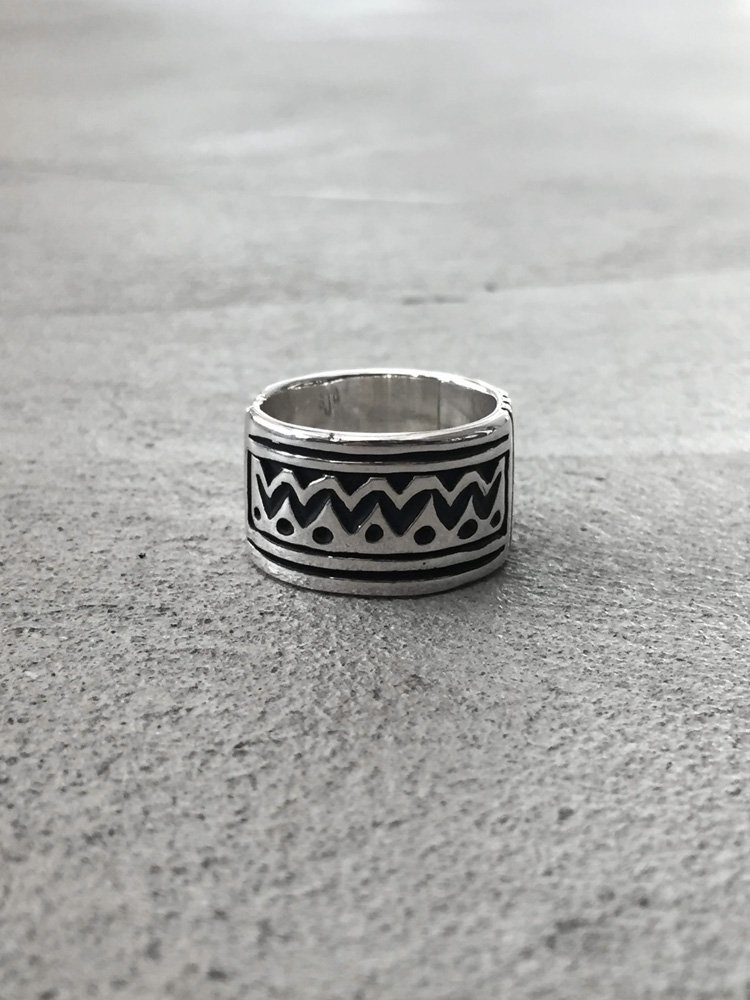 Indian Jewelry | インディアンジュエリー Steven Joe Begay / Navajo Ring