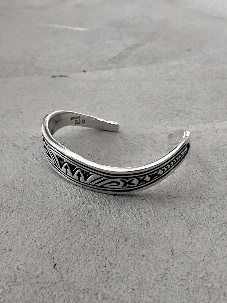 Indian Jewelry   インディアンジュエリー Steven Joe Begay / Navajo Bangle