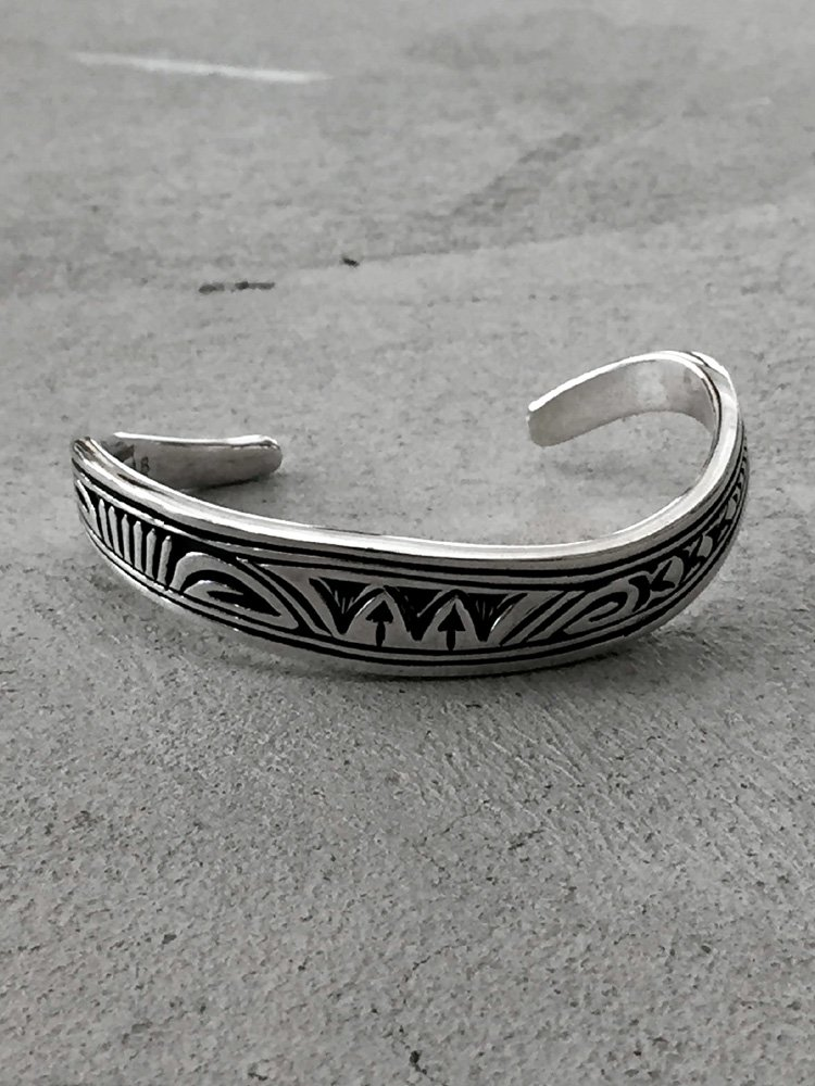 Indian Jewelry | インディアンジュエリー Navajo Bangle [Steven Joe Begay]