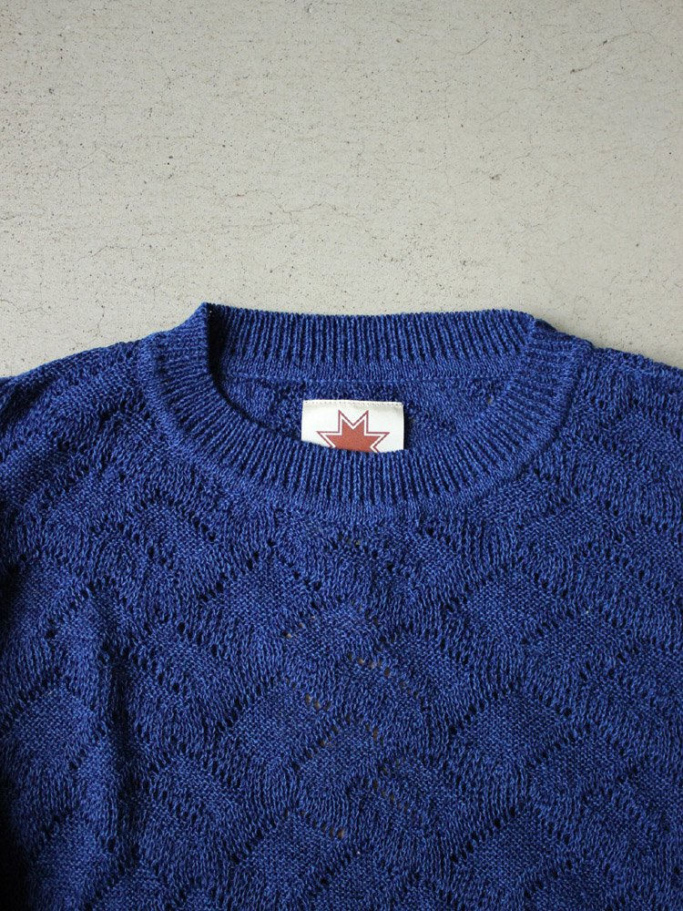 セール MISTY KNIT #NAVY