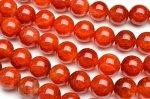 赤龍紋瑪瑙 12mm 1連(約38cm)_R5078-12 天然石 卸売問屋 パワーストーン卸通販の福縁閣 ブレスレット 連ビーズ アクセサリー