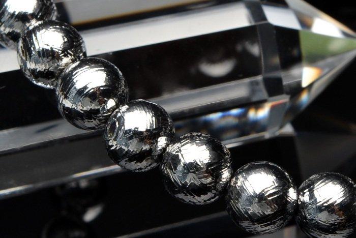 15%OFFセール中!ギベオン 6mm ブレスレット_B155-6 天然石 卸売問屋 パワーストーン卸通販の福縁閣 ブレスレット 連ビーズ