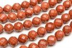 ゴールドストーン 64面カット 6mm 1連(約38cm)_R5135-6 天然石 卸売問屋 パワーストーン卸通販の福縁閣 ブレスレット 連ビーズ アクセサリー