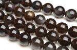 AA アイスオブシディアン 12mm 1連(約38cm)_R5179-12 天然石 卸売問屋 パワーストーン卸通販の福縁閣 ブレスレット 連ビーズ アクセサリー