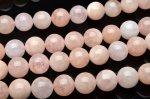 ピンクモルガナイト 10mm  1連(約38cm)_R5355-10 天然石 卸売問屋 パワーストーン卸通販の福縁閣 ブレスレット 連ビーズ アクセサリー