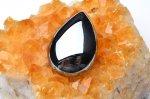 高純度 テラヘルツ鉱石 ドロップ(小) 30x20mm ペンダントトップ_R5505-3 天然石 卸売問屋 パワーストーン卸通販の福縁閣 ブレスレット 連ビーズ アクセサリー